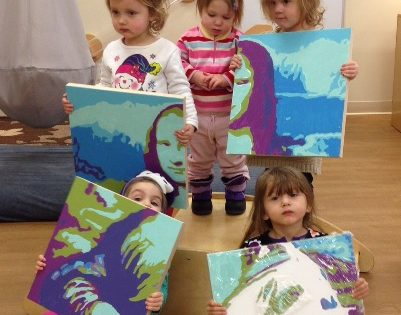 Must-see: Toddlers Paint-by-Number Mona Lisa [Video]