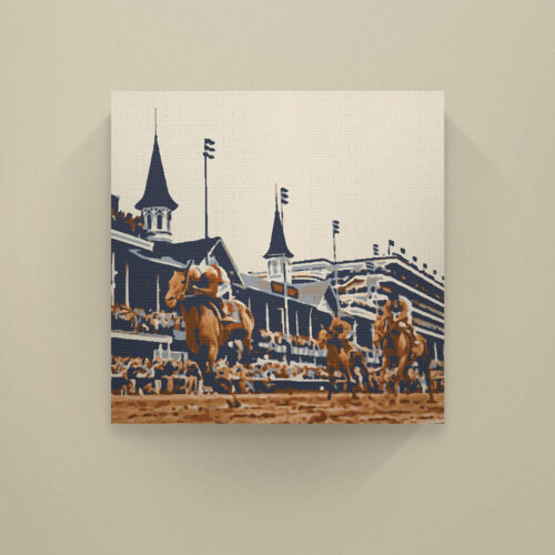 Kentucky Derby Best is History wall