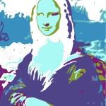 Mona Lisa part paint