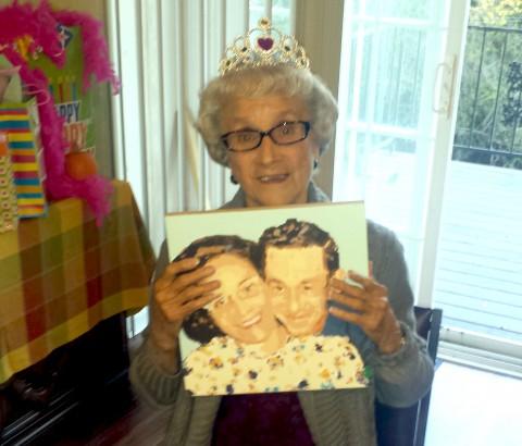 grandmas 90th