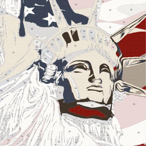EA - statue of liberty vintage.