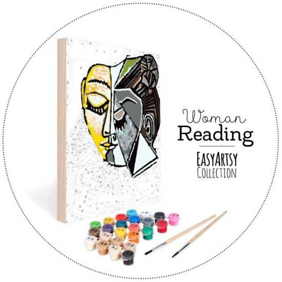 Head of Woman Reading