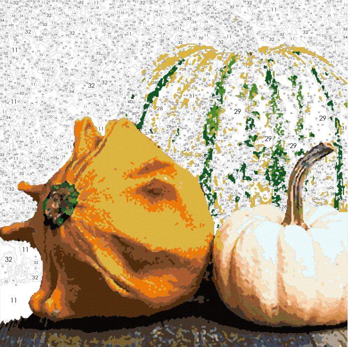 Porch Pumpkins