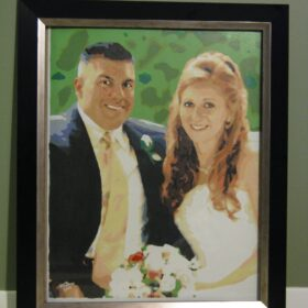 married couple paint by number