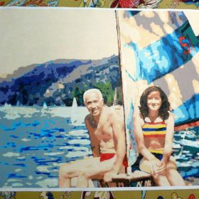 Easy123Art custom paint by number from a photograph